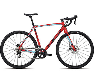 Specialized CruX Sport E5 GLOSS ROCKET RED/ LIGHT BLUE/ NAVY 49 - Bartz Bikesystem & Velodepot