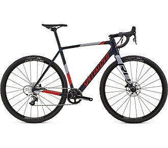 Specialized CruX Elite X1 Gloss Cast Blue/Rkt Red/Cool Gray 58 - Pulsschlag Bike+Sport