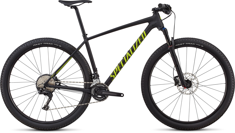 Specialized Men´s Chisel Expert -2x Satin Gloss Black / Hyper Green L - Pulsschlag Bike+Sport