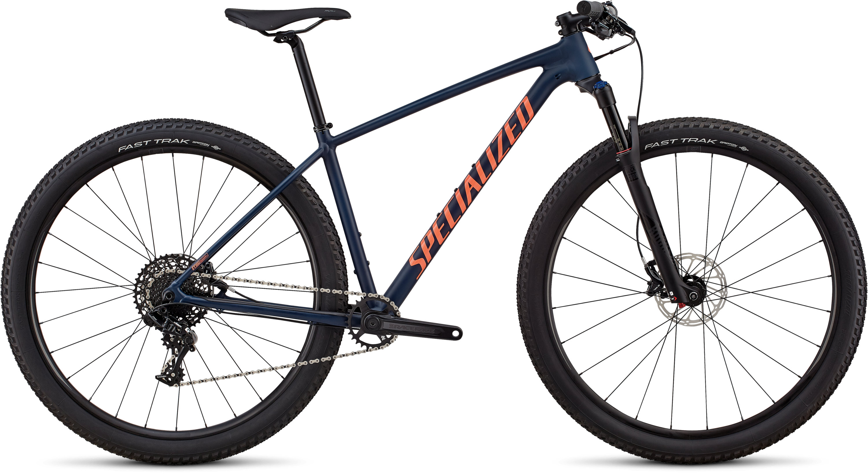 Specialized Women´s Chisel Expert Satin Gloss Cast Blue / Acid Lava Clean L - Pulsschlag Bike+Sport