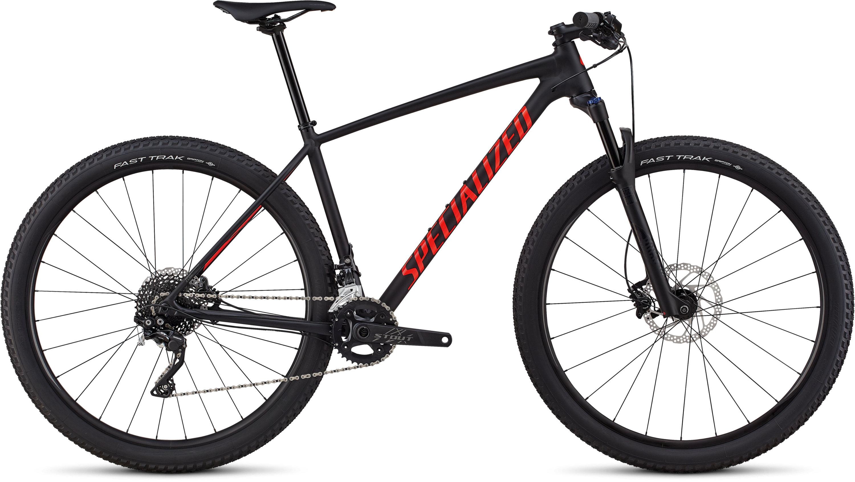Specialized Men´s Chisel Comp Satin Gloss Black / Rocket Red M - Pulsschlag Bike+Sport