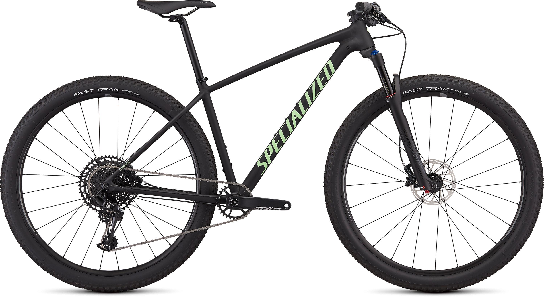 Specialized Women´s Chisel Expert Satin Gloss Black/Acid Kiwi L - Pulsschlag Bike+Sport