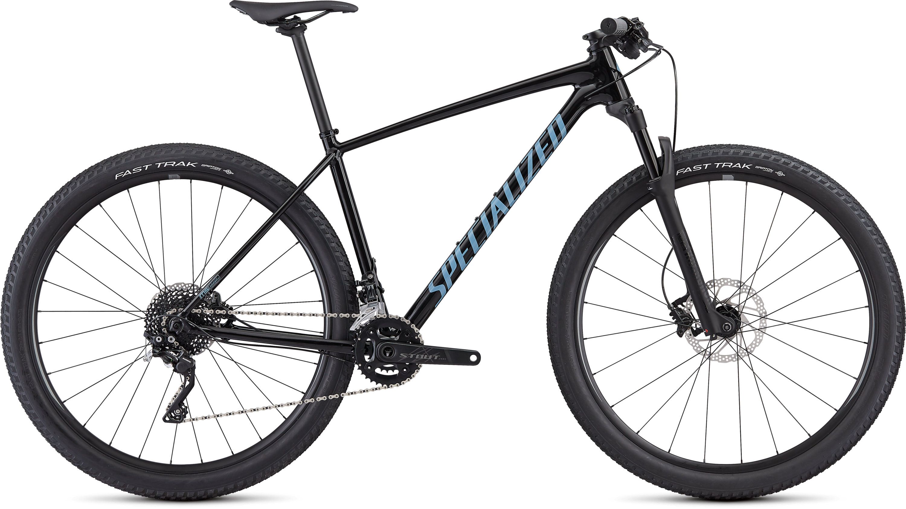 Specialized Men´s Chisel Comp Gloss Tarmac Black/Storm Grey L - Pulsschlag Bike+Sport
