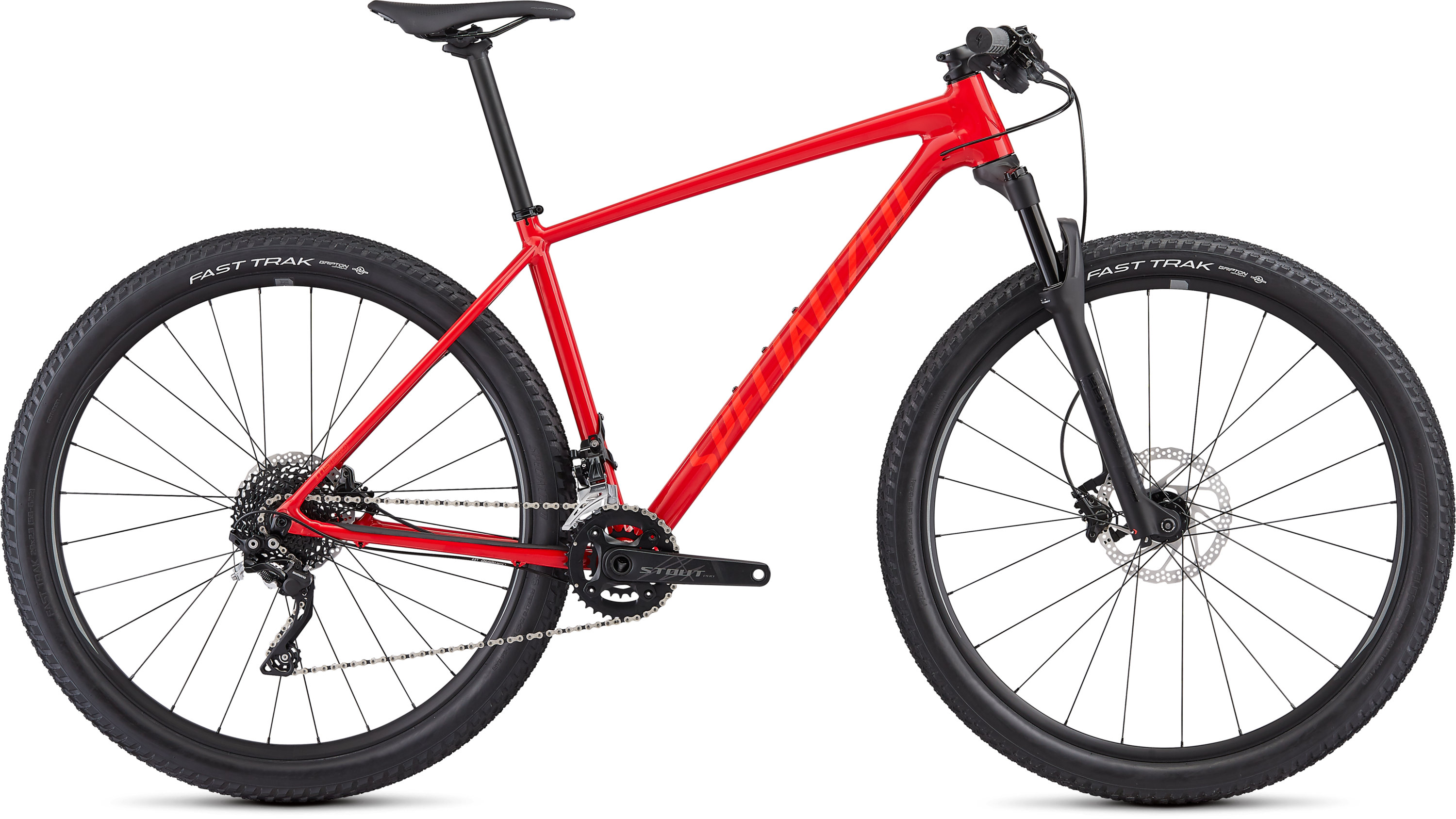Specialized Men´s Chisel Comp Gloss Flo Red/Rocket Red L - Pulsschlag Bike+Sport