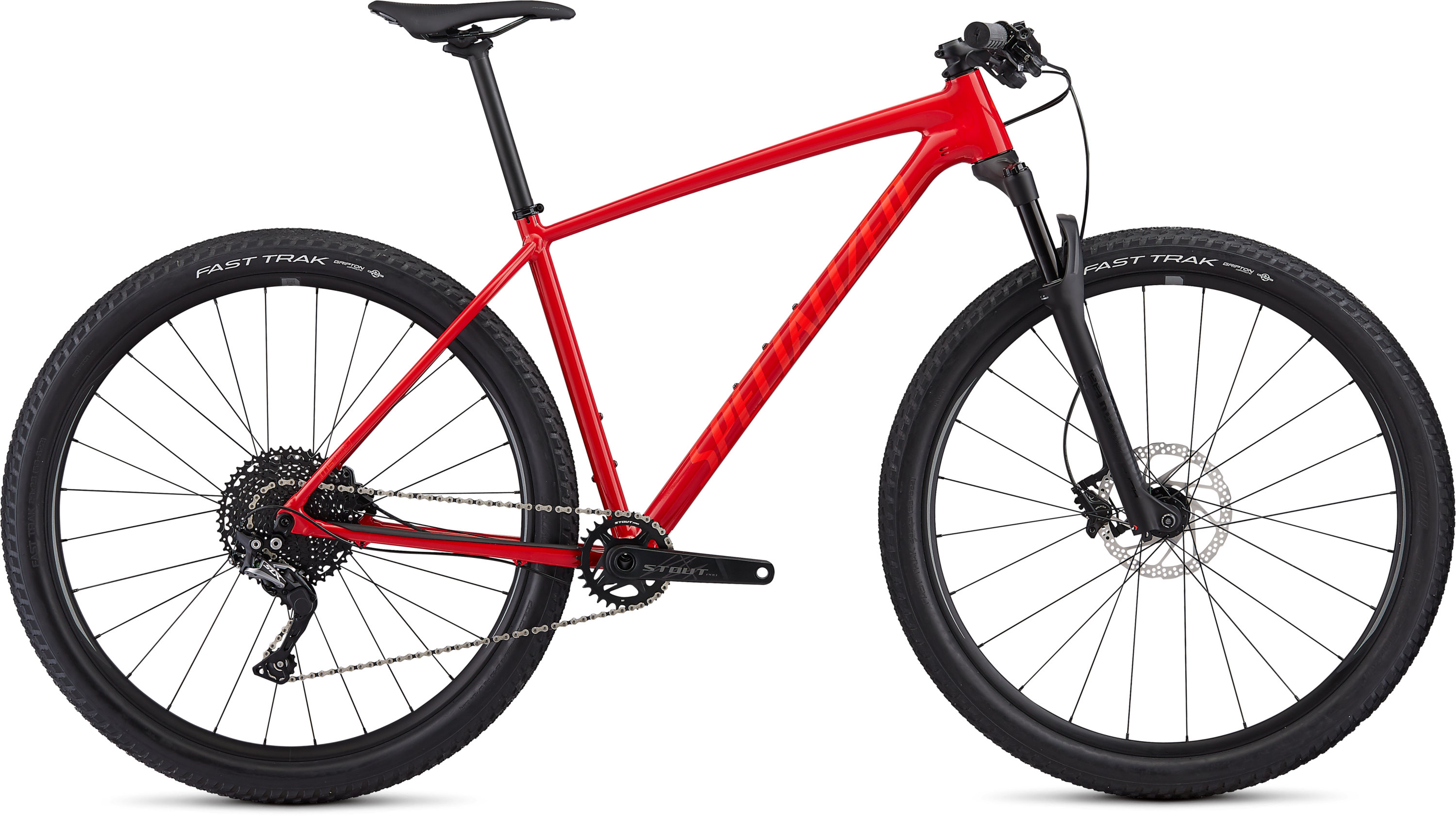 Specialized Men´s Chisel Comp X1 Gloss Flo Red/Rocket Red L - Pulsschlag Bike+Sport