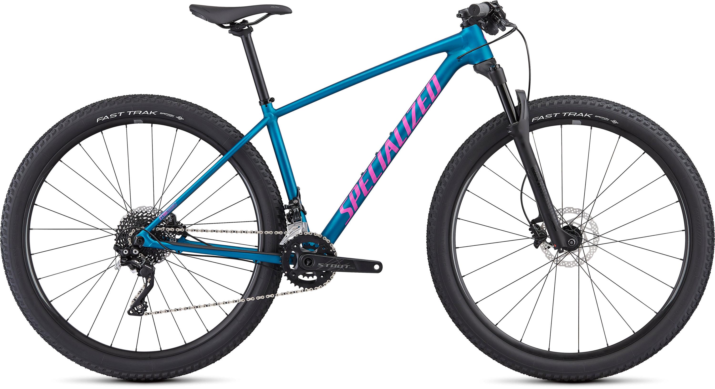 Specialized Women´s Chisel Comp Satin Gloss Marine Blue/Acid Purple L - Pulsschlag Bike+Sport