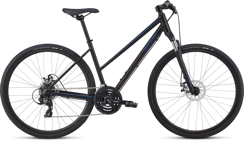 Specialized Ariel Step-Through Mechanical Disc Tarmac Black/Chameleon L - Pulsschlag Bike+Sport