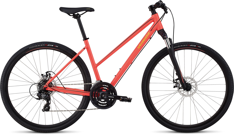 Specialized Ariel Step-Through Mechanical Disc Gloss Acid Lava/Plum Purple M - Fahrrad online kaufen | Online Shop Bike Profis