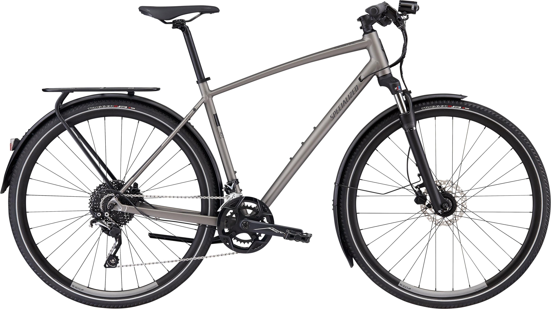 Specialized CrossTrail Elite EQ Black Top Collection Satin Brushed L - Pulsschlag Bike+Sport