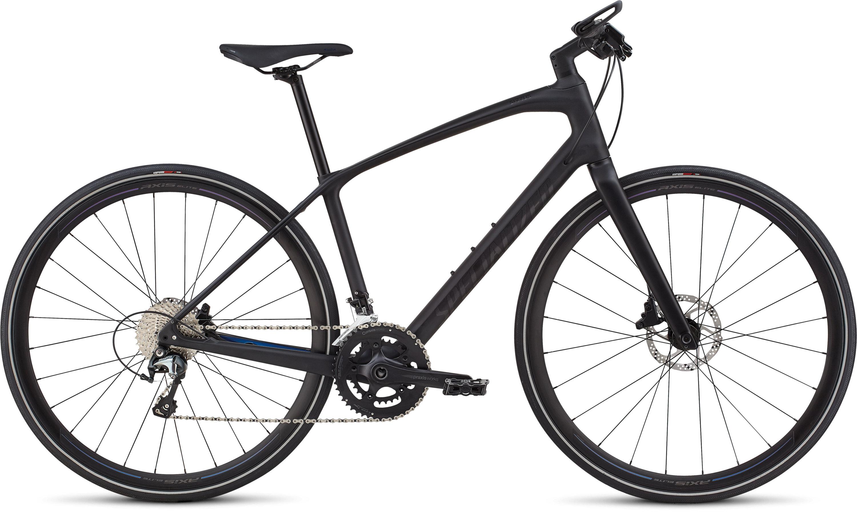 Specialized Women´s Sirrus Elite Carbon Tarmac Black/Black/Chameleon L - Pulsschlag Bike+Sport