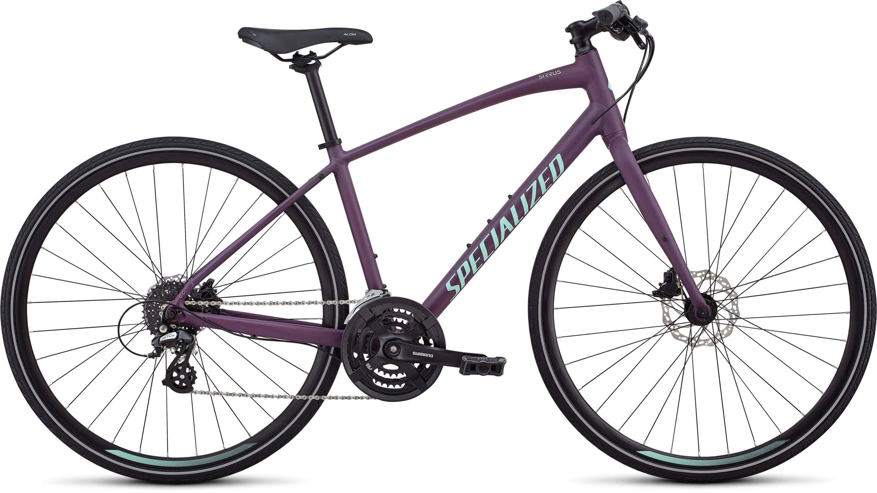 Specialized Women´s Sirrus Cast Berry/Mint L - Pulsschlag Bike+Sport
