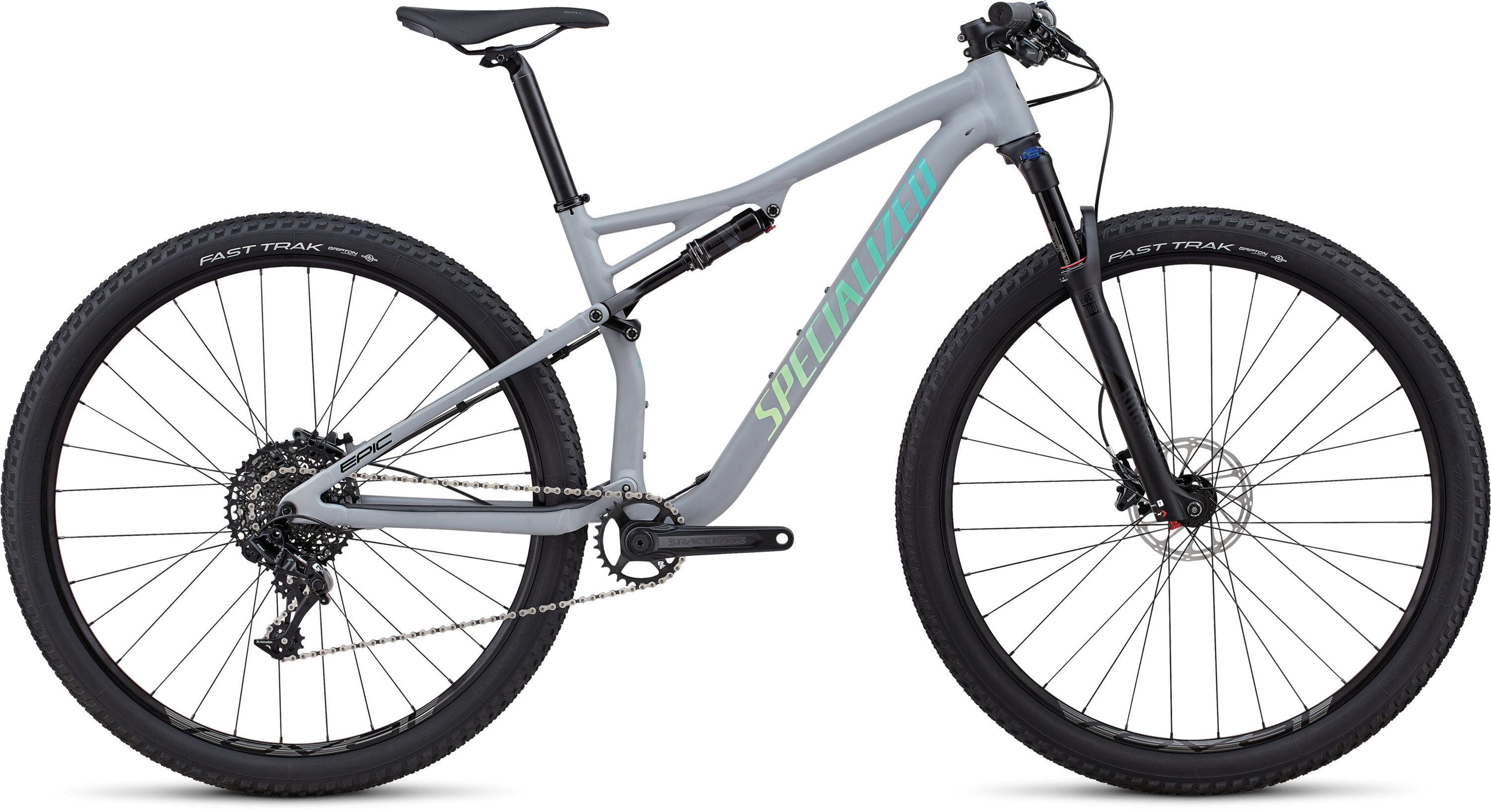 Specialized Women´s Epic Comp Alloy Satin Gloss Cool Gray / Cali Fade L - Pulsschlag Bike+Sport