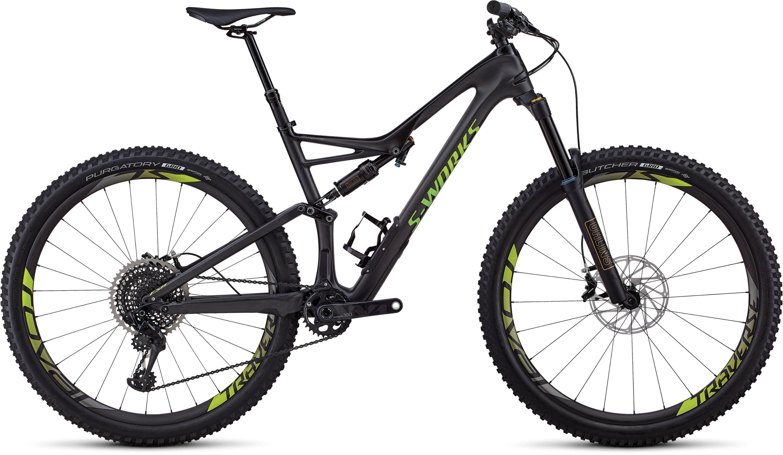 Specialized S-Works Stumpjumper 29/6Fattie SATIN GLOSS CARBON / HYPER GREEN XL - Pulsschlag Bike+Sport