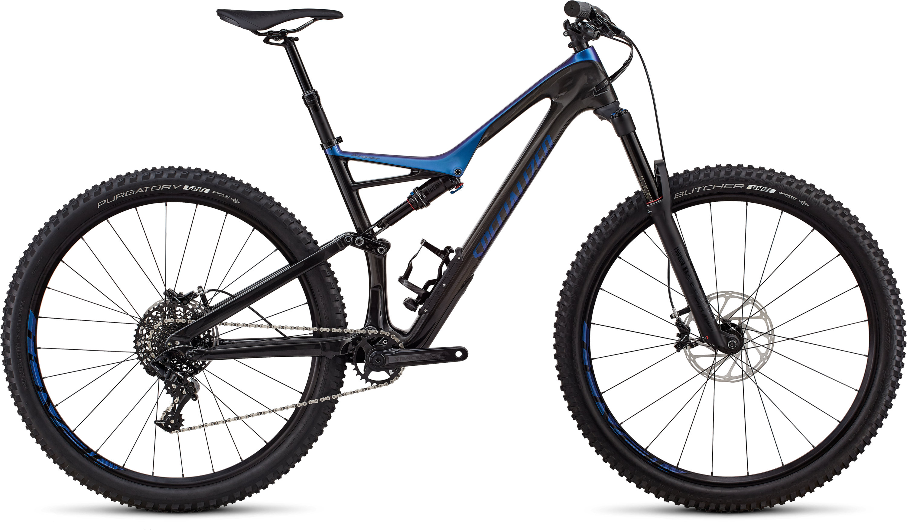 Specialized Stumpjumper Comp Carbon 29/6Fattie GLOSS CARBON / CHAMELEON S - Pulsschlag Bike+Sport