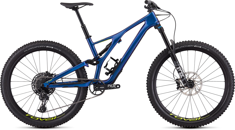 Specialized Men´s Stumpjumper Comp Carbon 27.5—12-speed GLOSS CHAMELEON / HYPER L - Pulsschlag Bike+Sport