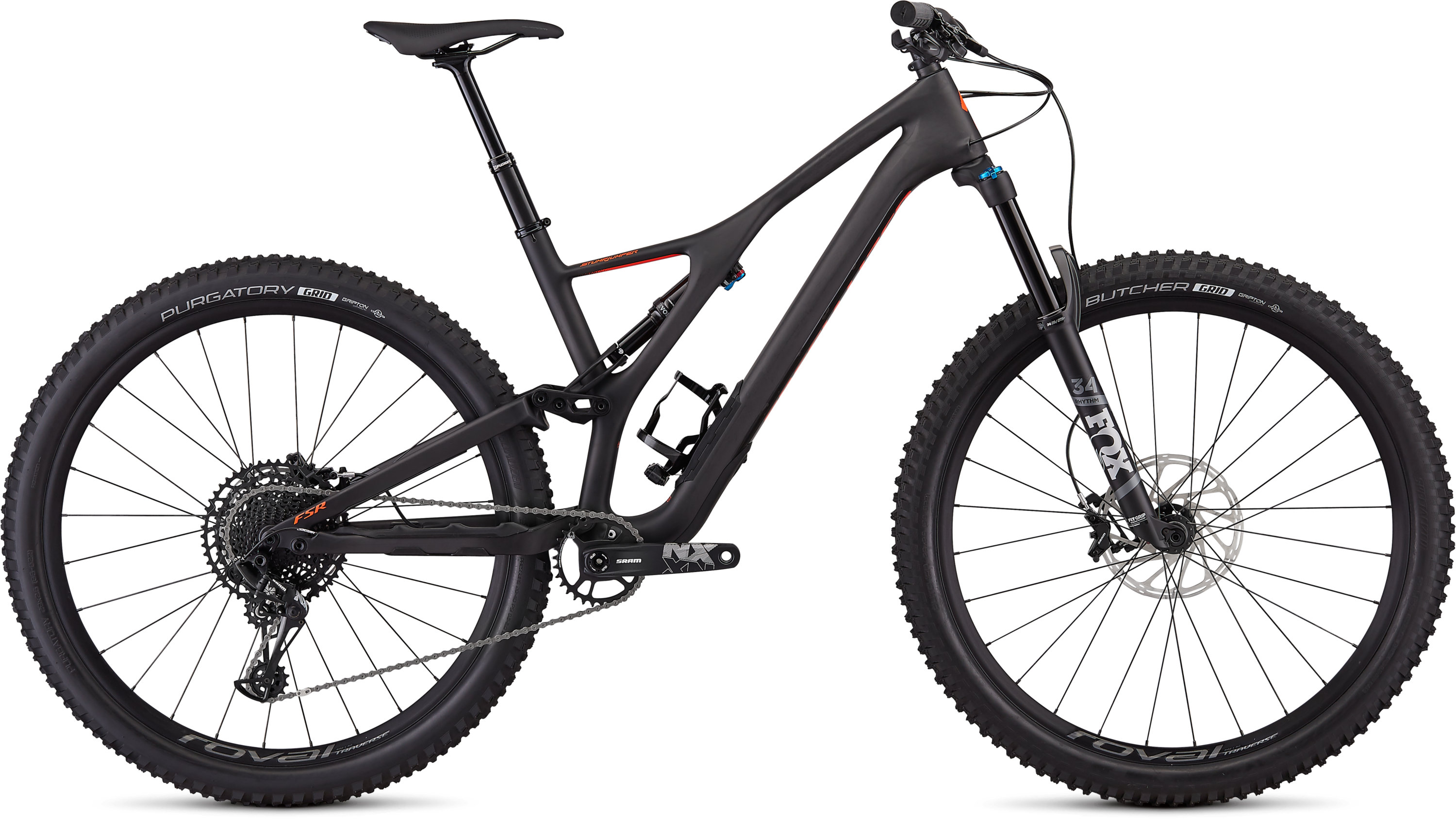 Specialized Men´s Stumpjumper Comp Carbon 29  12-speed SATIN CARBON / ROCKET RED L - Pulsschlag Bike+Sport