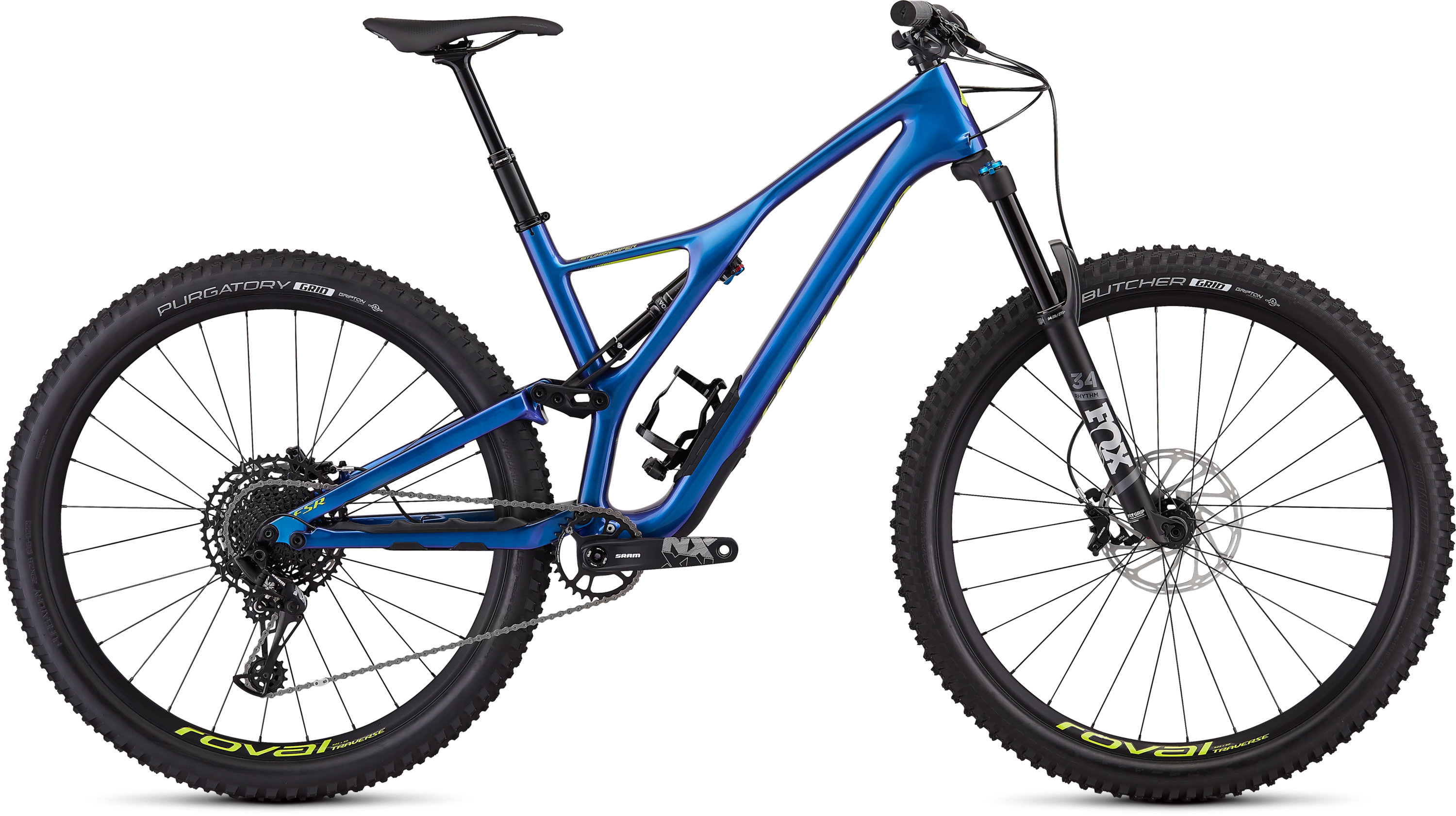 Specialized Men´s Stumpjumper Comp Carbon 29  12-speed GLOSS CHAMELEON / HYPER L - Pulsschlag Bike+Sport