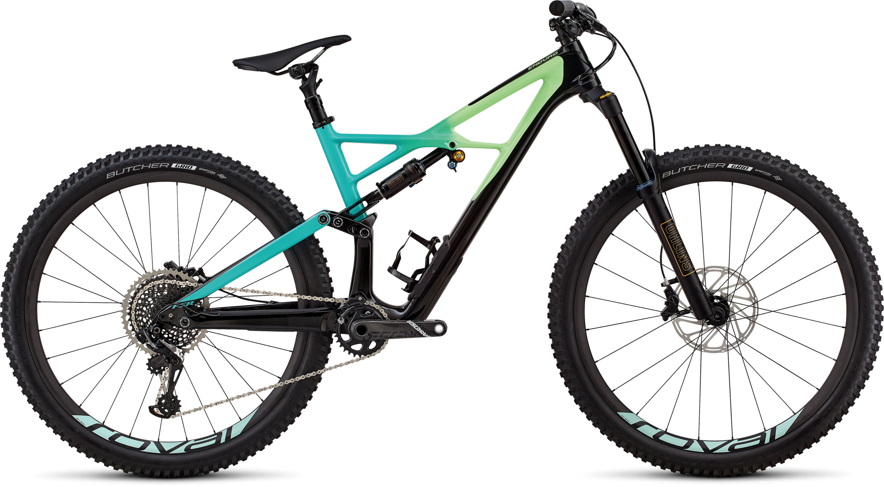 Specialized Enduro Pro 29/6Fattie GLOSS BLACK / CALI FADE / CHARCOAL L - Pulsschlag Bike+Sport
