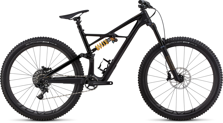 Specialized Enduro Coil 29/6Fattie SATIN GLOSS TARMAC BLACK / TARMAC BLACK / GOLD L - Pulsschlag Bike+Sport