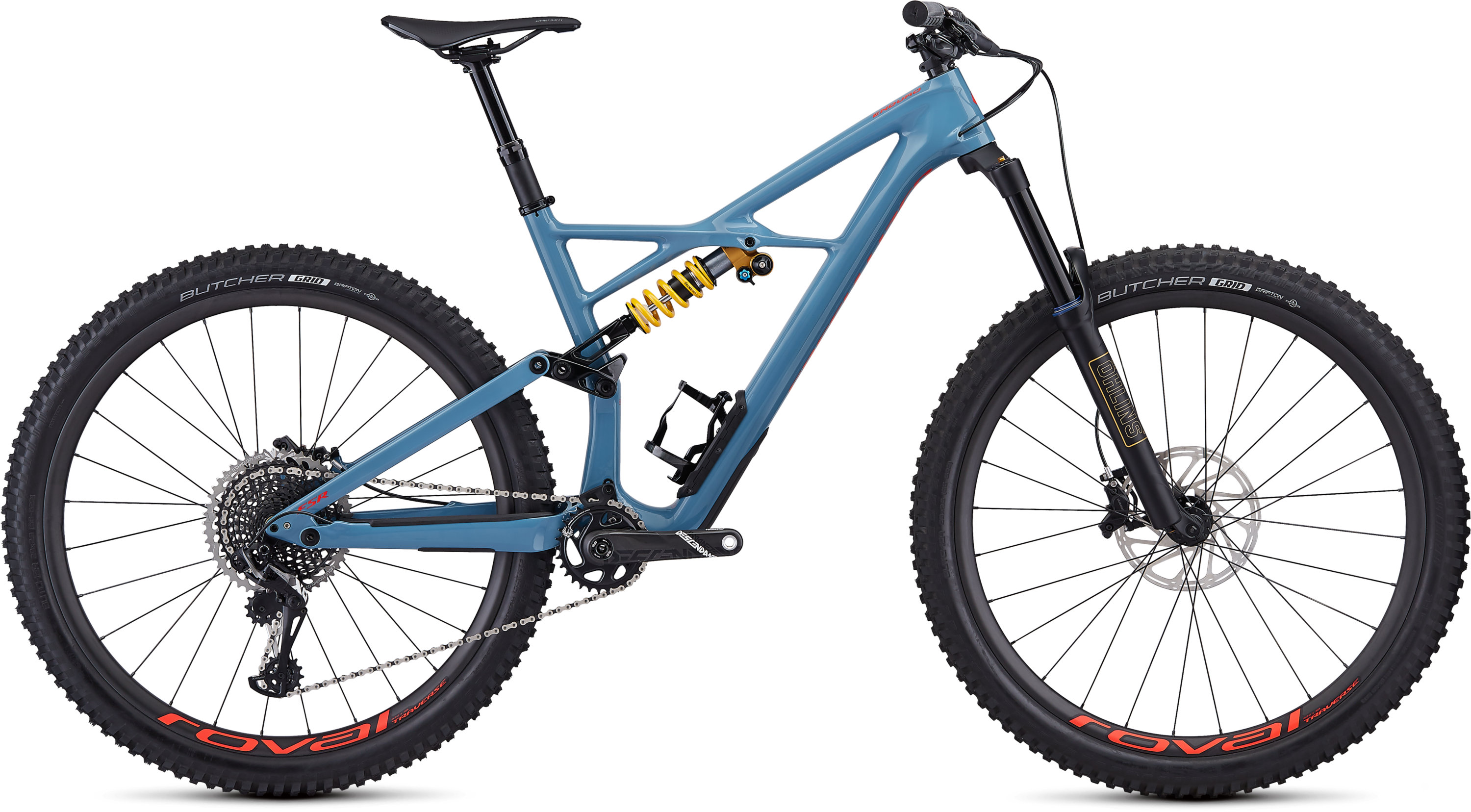 Specialized Enduro Pro 29 GLOSS STORM GREY/ROCKET RED L - Pulsschlag Bike+Sport