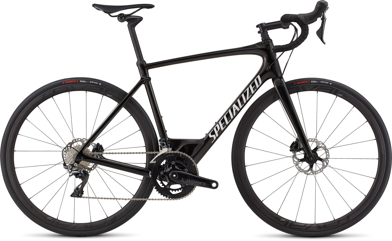 Specialized Roubaix Pro Gloss Tarmac Blk/Graphite Edge Fade/Wht Ref/Clean 49 - Pulsschlag Bike+Sport