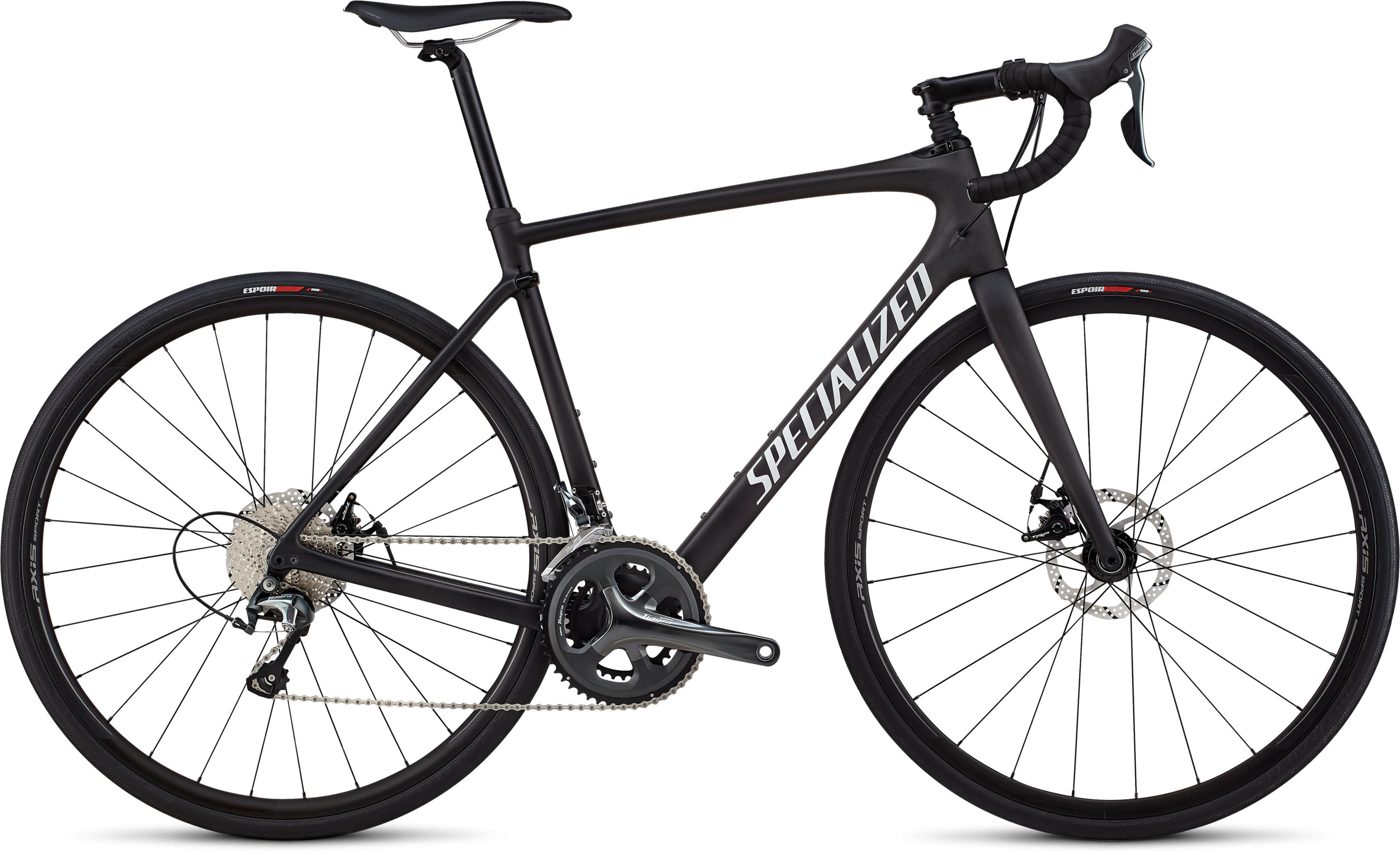 Specialized Roubaix Satin Carbon / White / Clean 49 - Pulsschlag Bike+Sport
