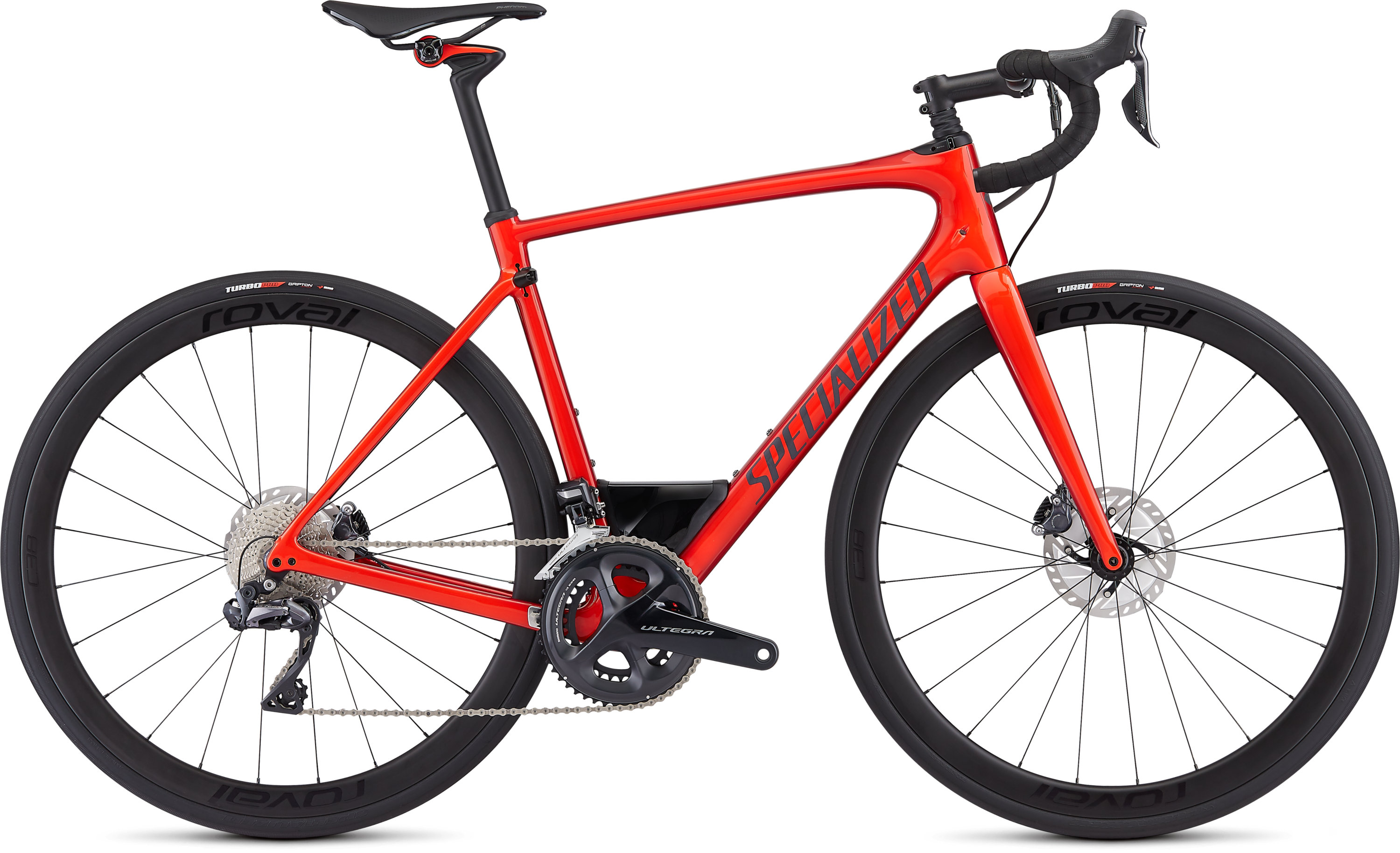 Specialized Roubaix Expert UDi2 Gloss Rocket Red/Candy Red Edge Fade/Clean 58 - Pulsschlag Bike+Sport