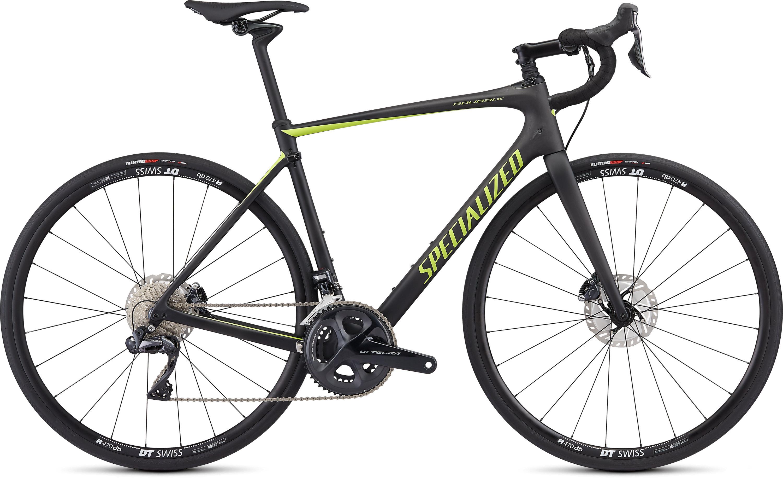 Specialized Roubaix CompUltegra Di2 Satin Carbon/Hyper 49 - Pulsschlag Bike+Sport