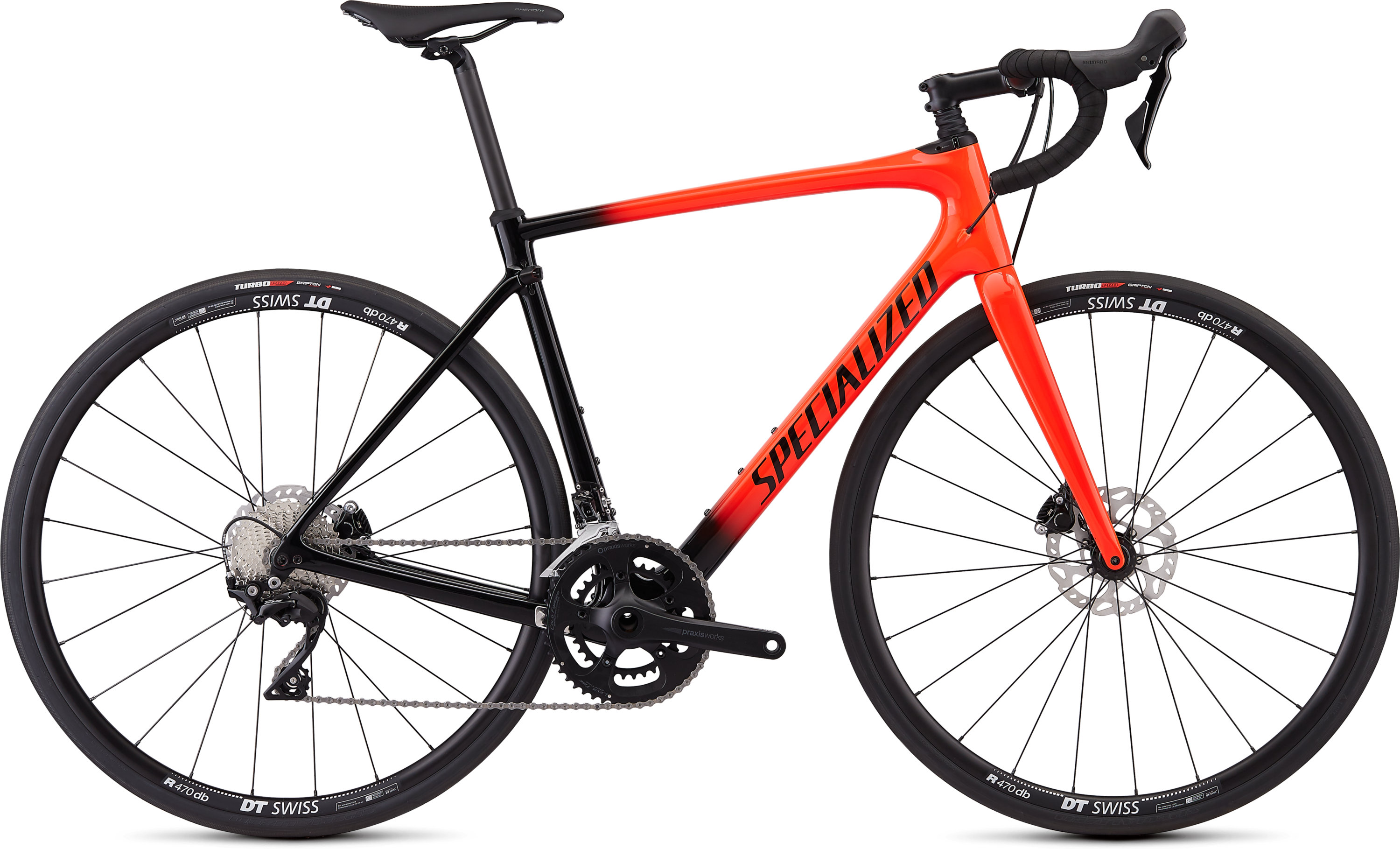 Specialized Roubaix Sport Gloss Rocket Red/Black Fade/Rocket Red/Clean 49 - Pulsschlag Bike+Sport