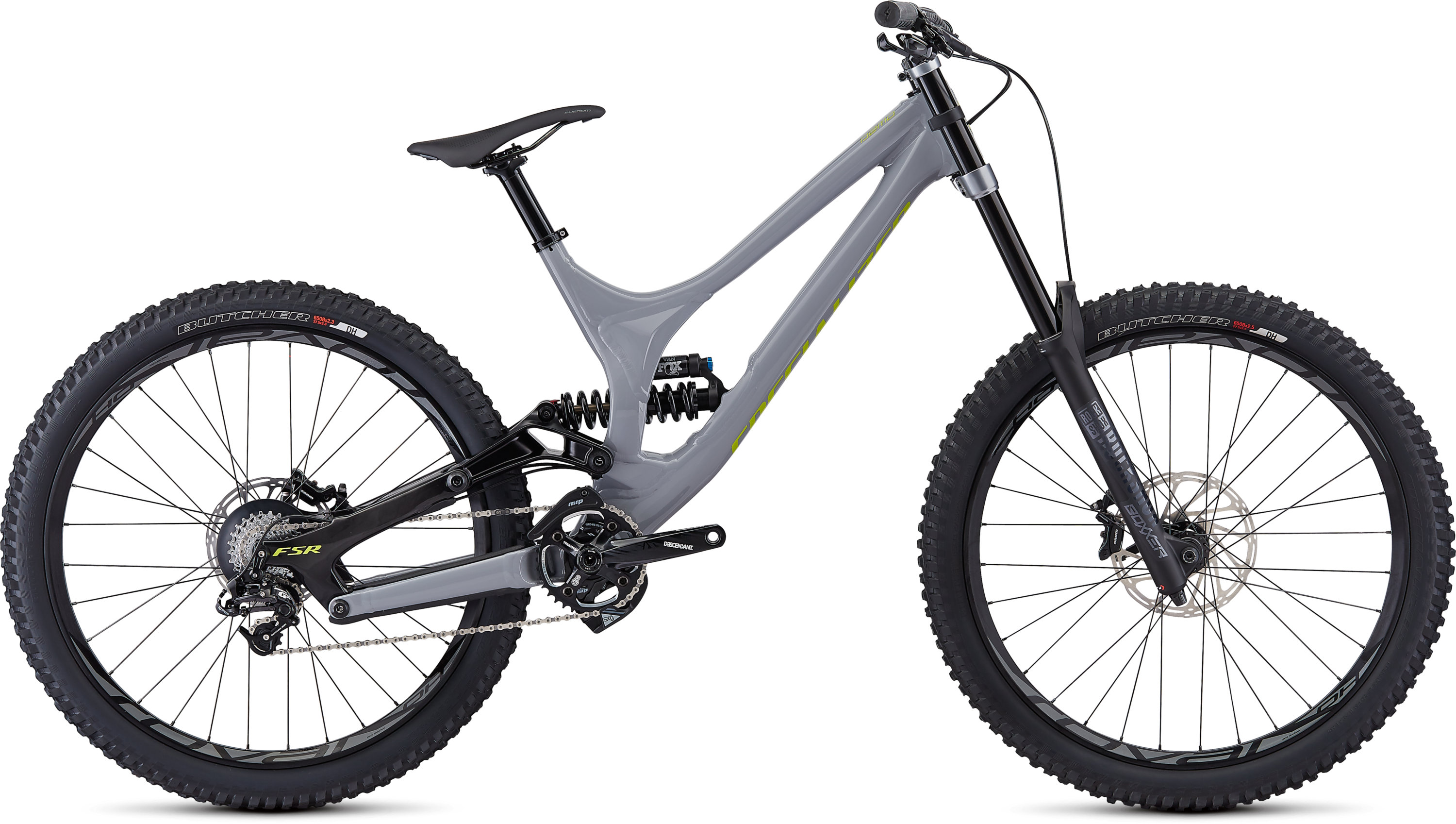 Specialized Demo Alloy 27.5 GLOSS / COOL GREY / ION EXTRA LONG - Pulsschlag Bike+Sport