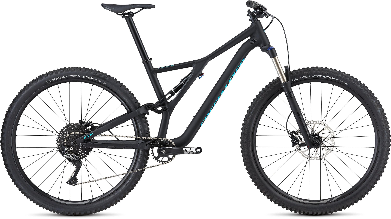 Specialized Men´s Stumpjumper ST 29 Satin Gloss Black/Nice Blue L - Fahrrad online kaufen | Online Shop Bike Profis