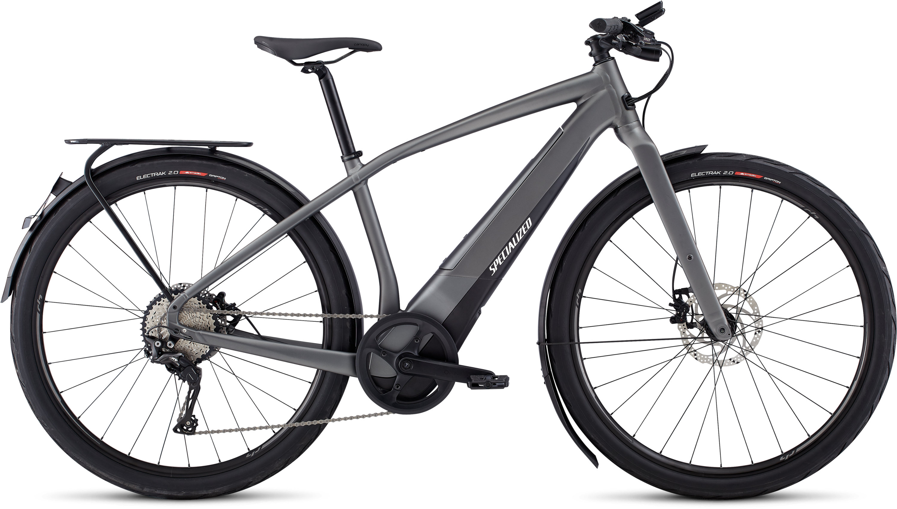 Specialized Men´s Turbo Vado 5.0 Gloss Charcoal / Black / Chrome LG - schneider-sports