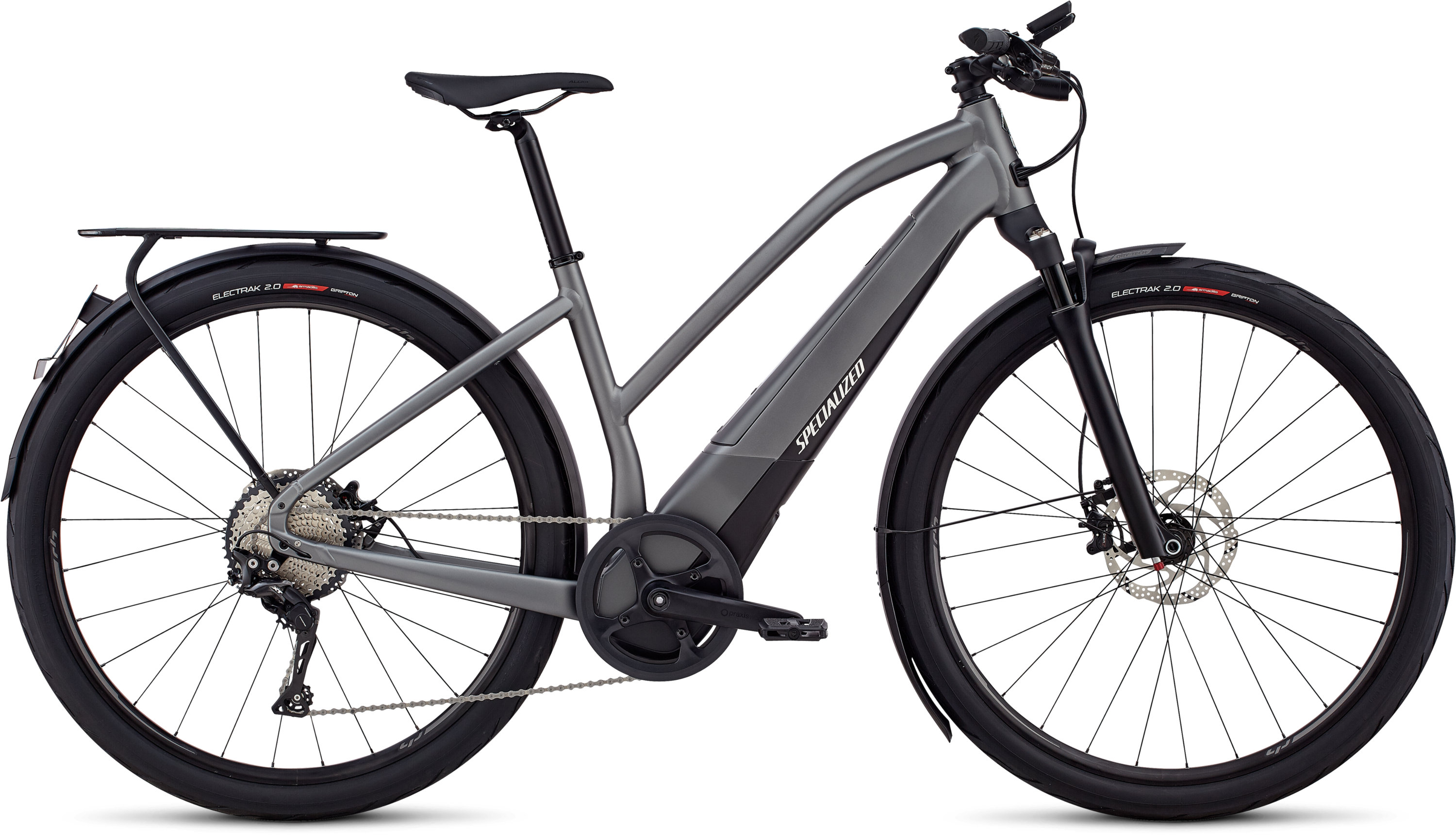 Specialized Women´s Turbo Vado 6.0 Gloss Charcoal / Black / Chrome MD - schneider-sports