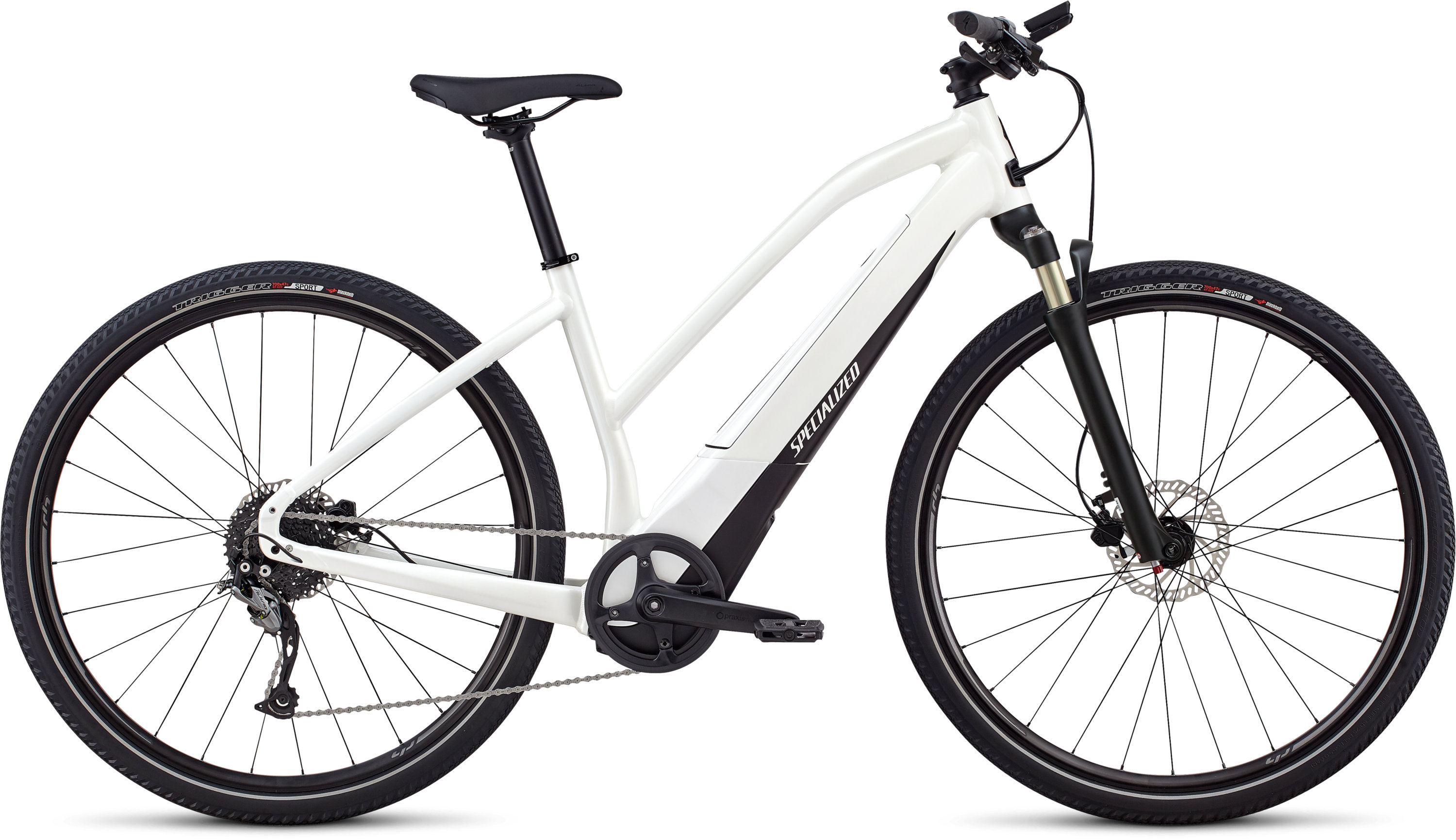 Specialized Women´s Turbo Vado 2.0 Satin Metallic White Silver / Black XL - Pulsschlag Bike+Sport