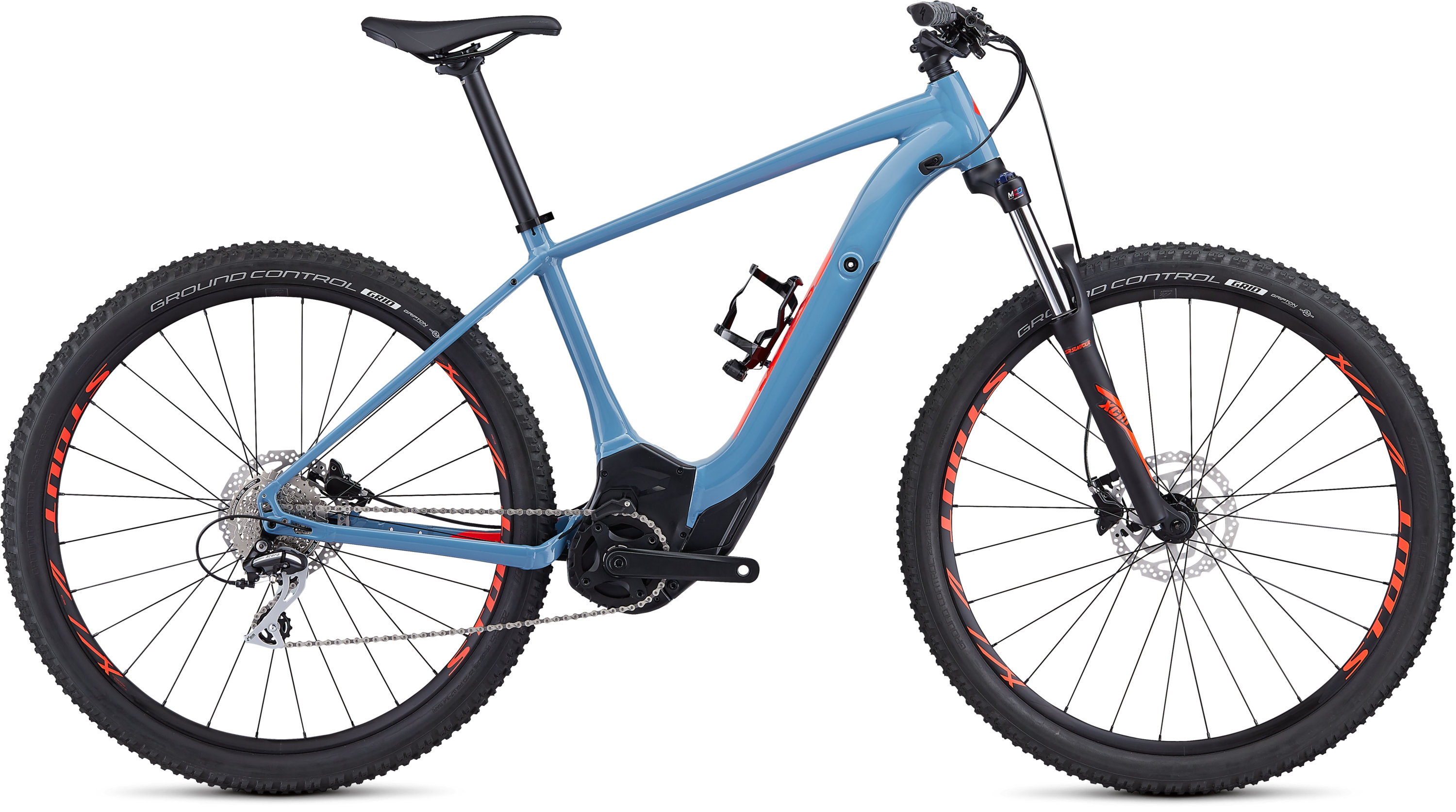 Specialized Men´s Turbo Levo Hardtail 29 Storm Grey/Rocket Red M - Specialized Men´s Turbo Levo Hardtail 29 Storm Grey/Rocket Red M