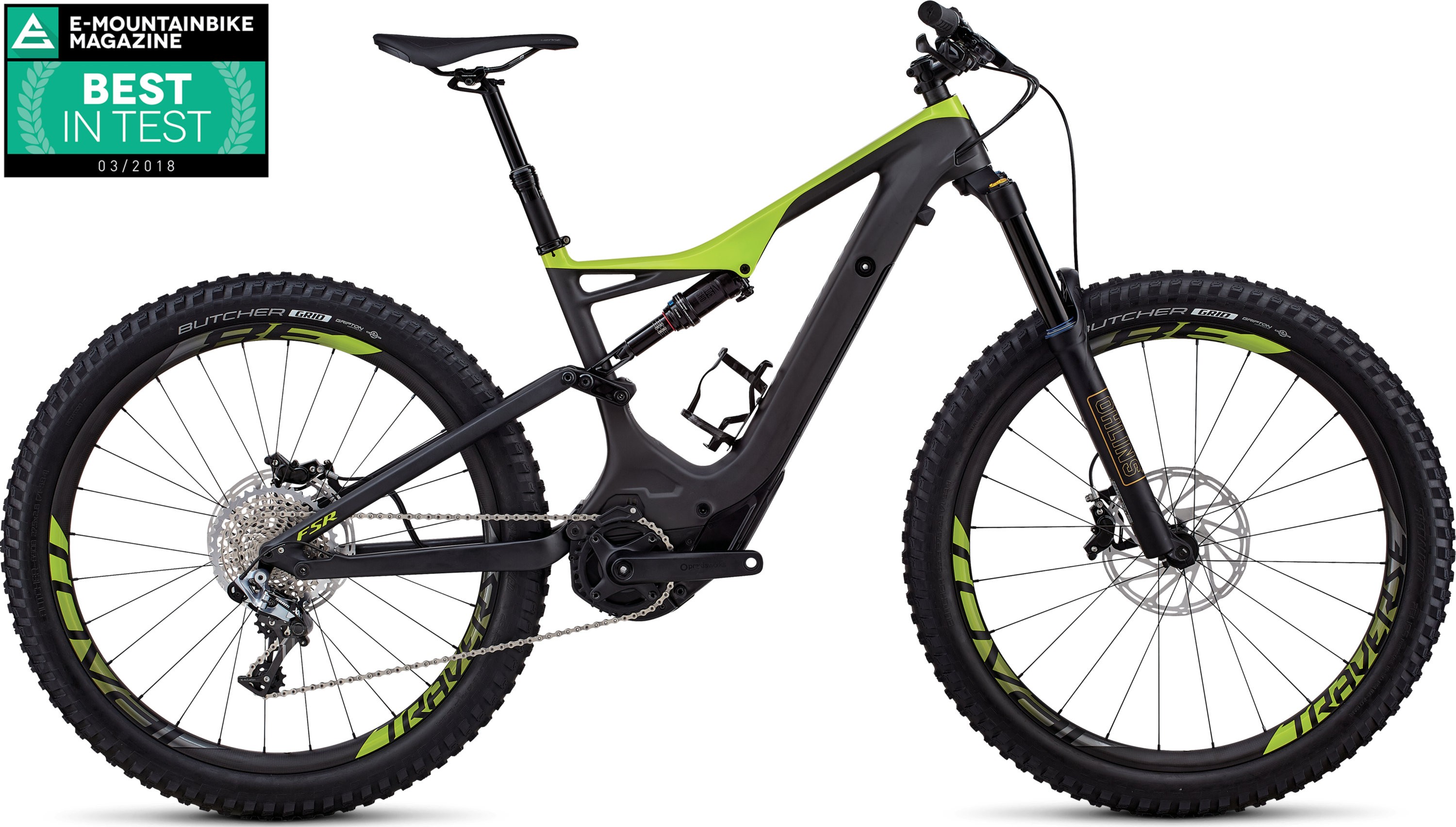 Specialized Men´s S-Works Turbo Levo FSR 6Fattie/29 Carbon / Hyper L - Pulsschlag Bike+Sport