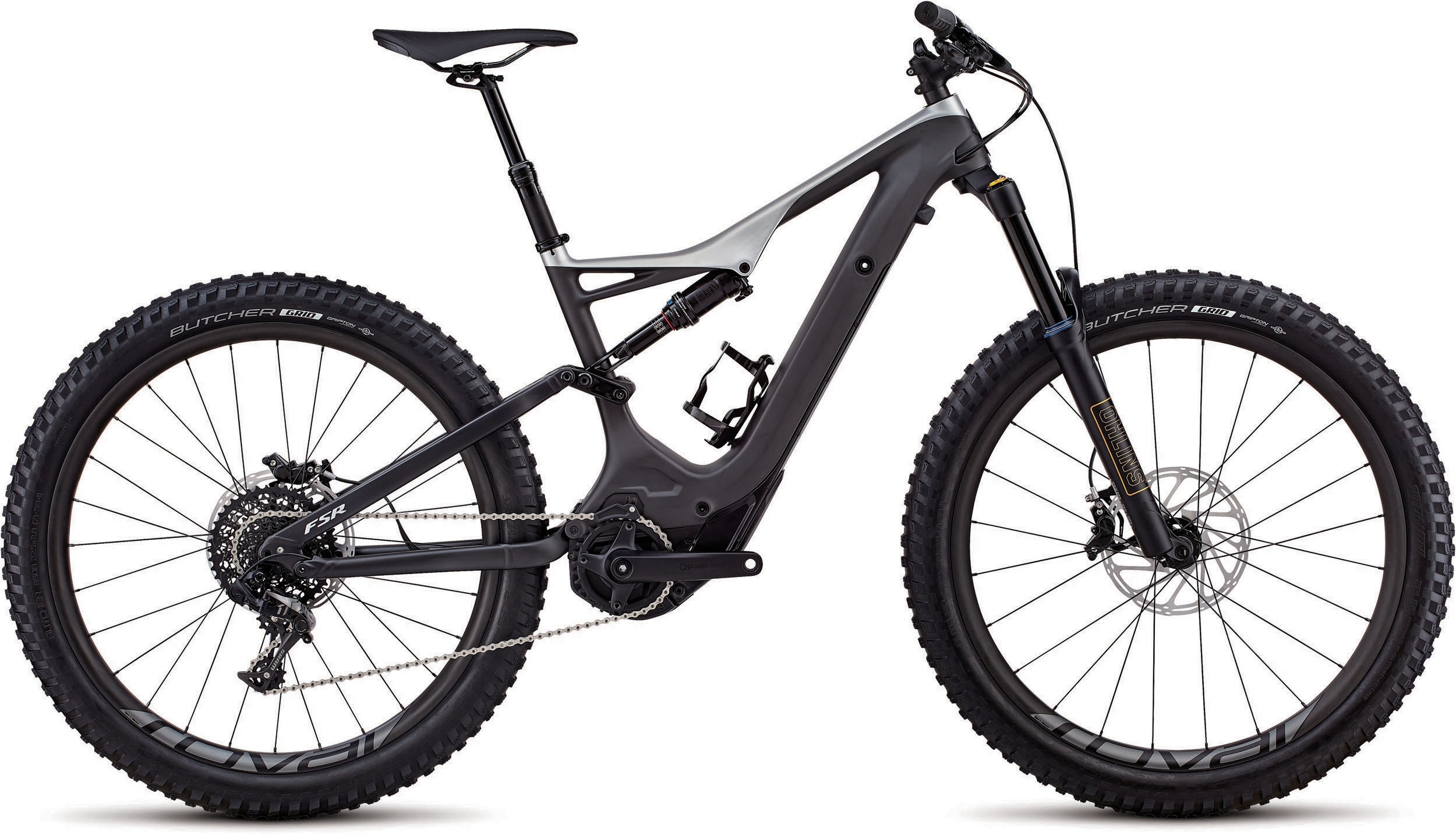 Specialized Men´s Turbo Levo FSR Expert Carbon 6Fattie/29 Satin Carbon / Flake Silver L - schneider-sports
