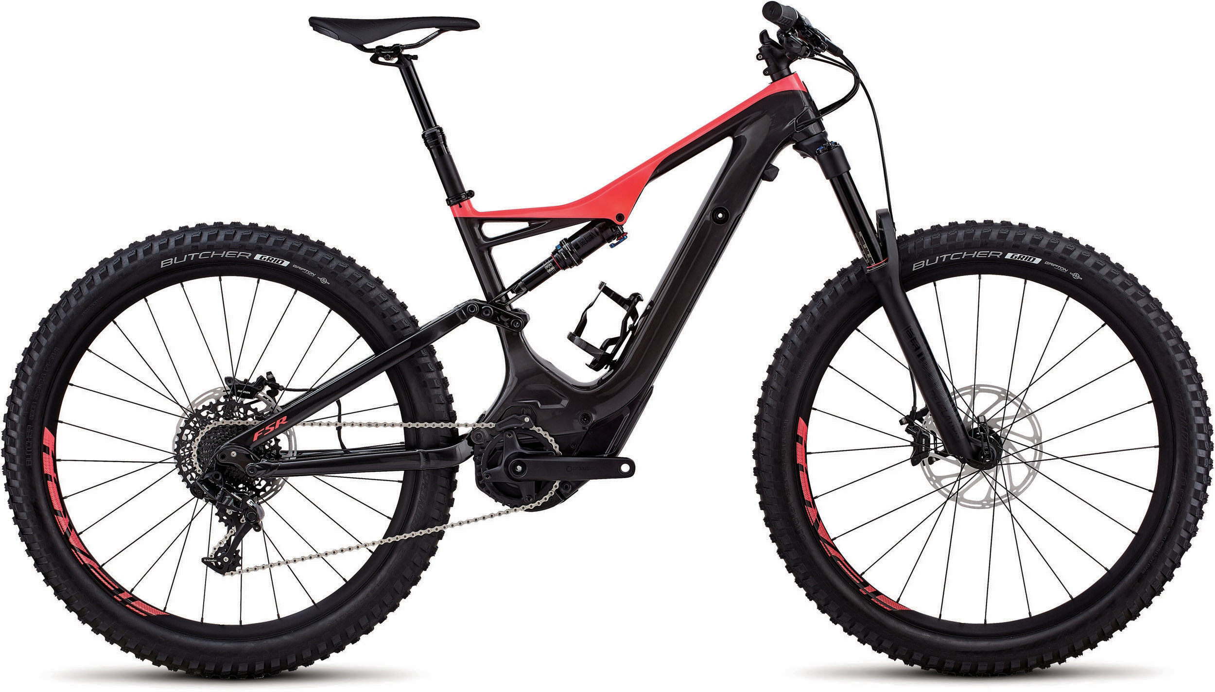 Specialized Men´s Turbo Levo FSR Comp Carbon 6Fattie/29 Gloss Carbon / Acid Red M - schneider-sports
