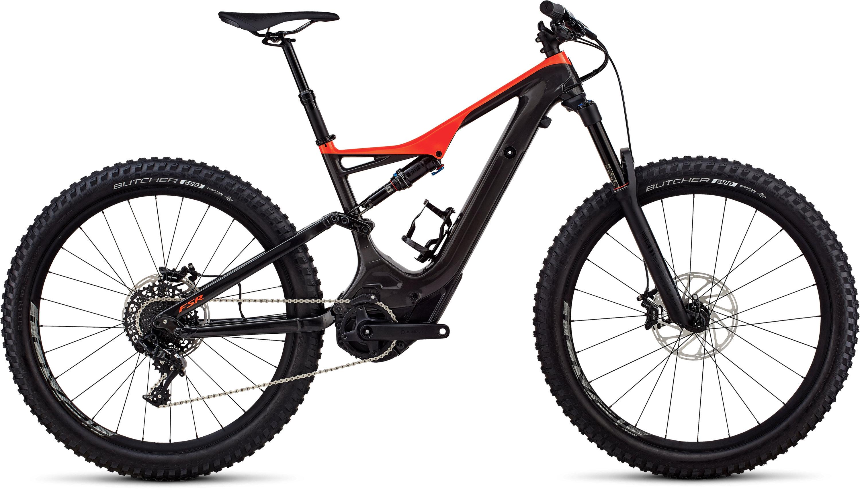 Specialized Men´s Turbo Levo FSR Comp Carbon 6Fattie/29 Gloss Carbon/Rocket Red L - Bartz Bikesystem & Velodepot