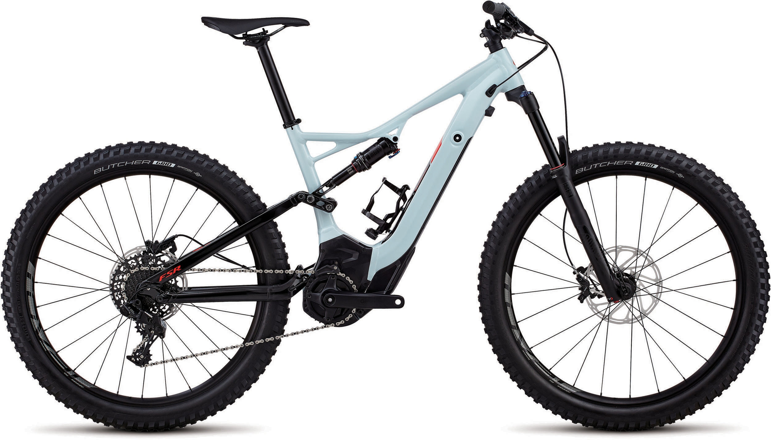 Specialized Men´s Turbo Levo FSR 6Fattie/29 Ice Blue / Rocket Red L - schneider-sports