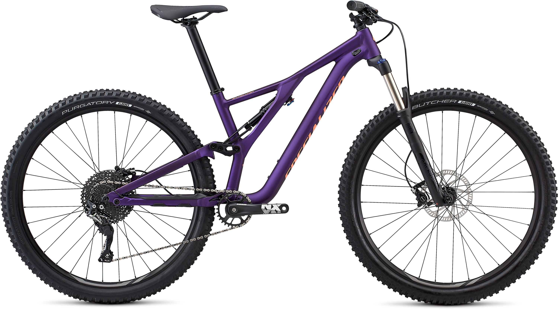 Specialized Women´s Stumpjumper ST Alloy 29 Satin Gloss/Plum Purple/Acid Lava L - Pulsschlag Bike+Sport