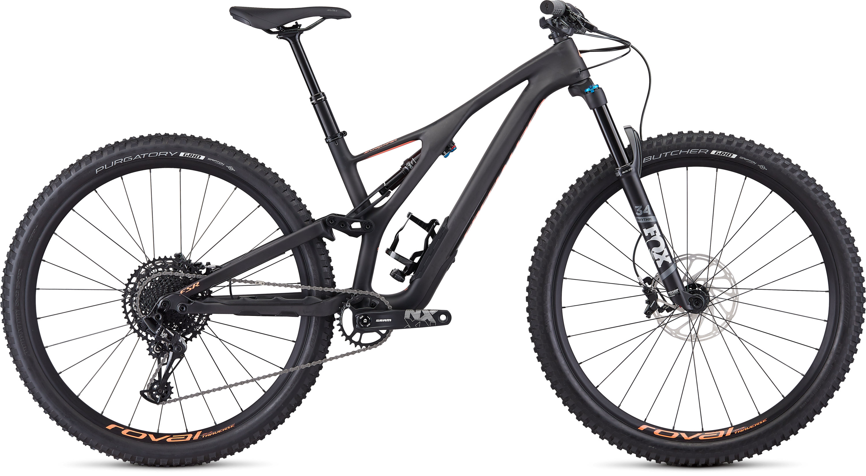 Specialized Women´s Stumpjumper ST Comp Carbon 29  12-speed SATIN CARBON / ACID LAVA S - Pulsschlag Bike+Sport