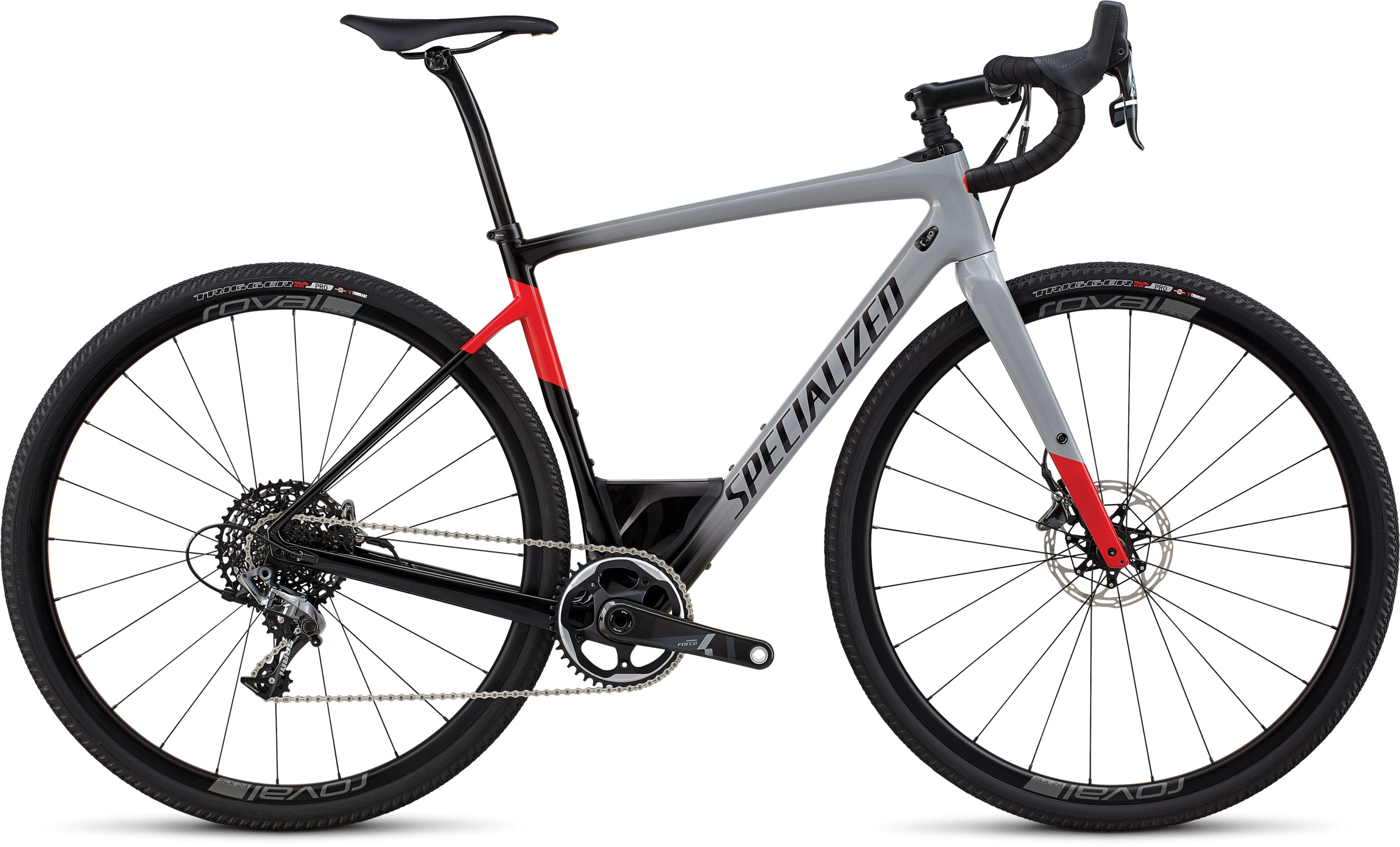 Specialized Men´s Diverge Expert GLOSS COOL GREY / BLACK / FLO RED 48 - Pulsschlag Bike+Sport