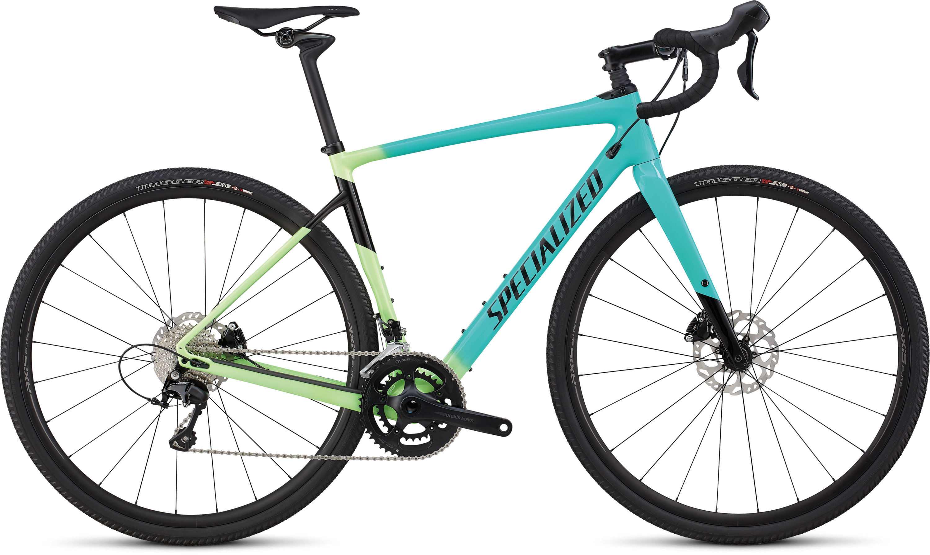 Specialized Women´s Diverge Comp Cali Fade/Tarmac Black 48 - Pulsschlag Bike+Sport