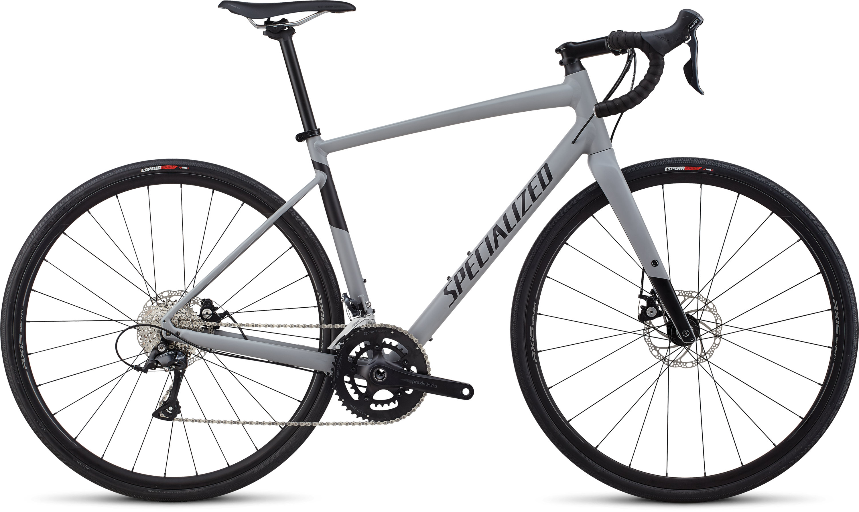 Specialized Men´s Diverge E5 Sport Satin Cool Grey/ Black 52 - Pulsschlag Bike+Sport