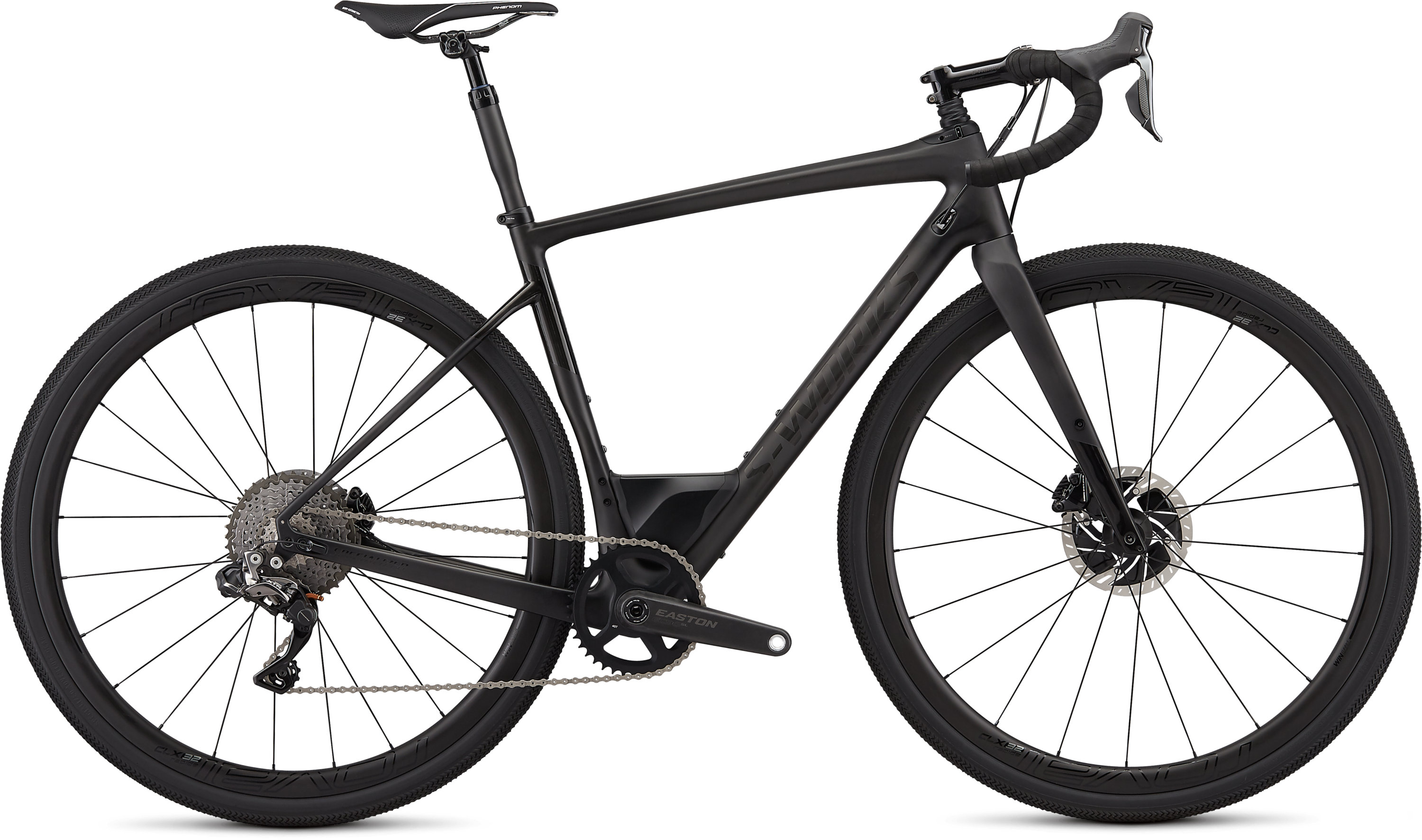 Specialized Men´s S-Works Diverge Satin Carbon/Gloss Black 48 - Pulsschlag Bike+Sport