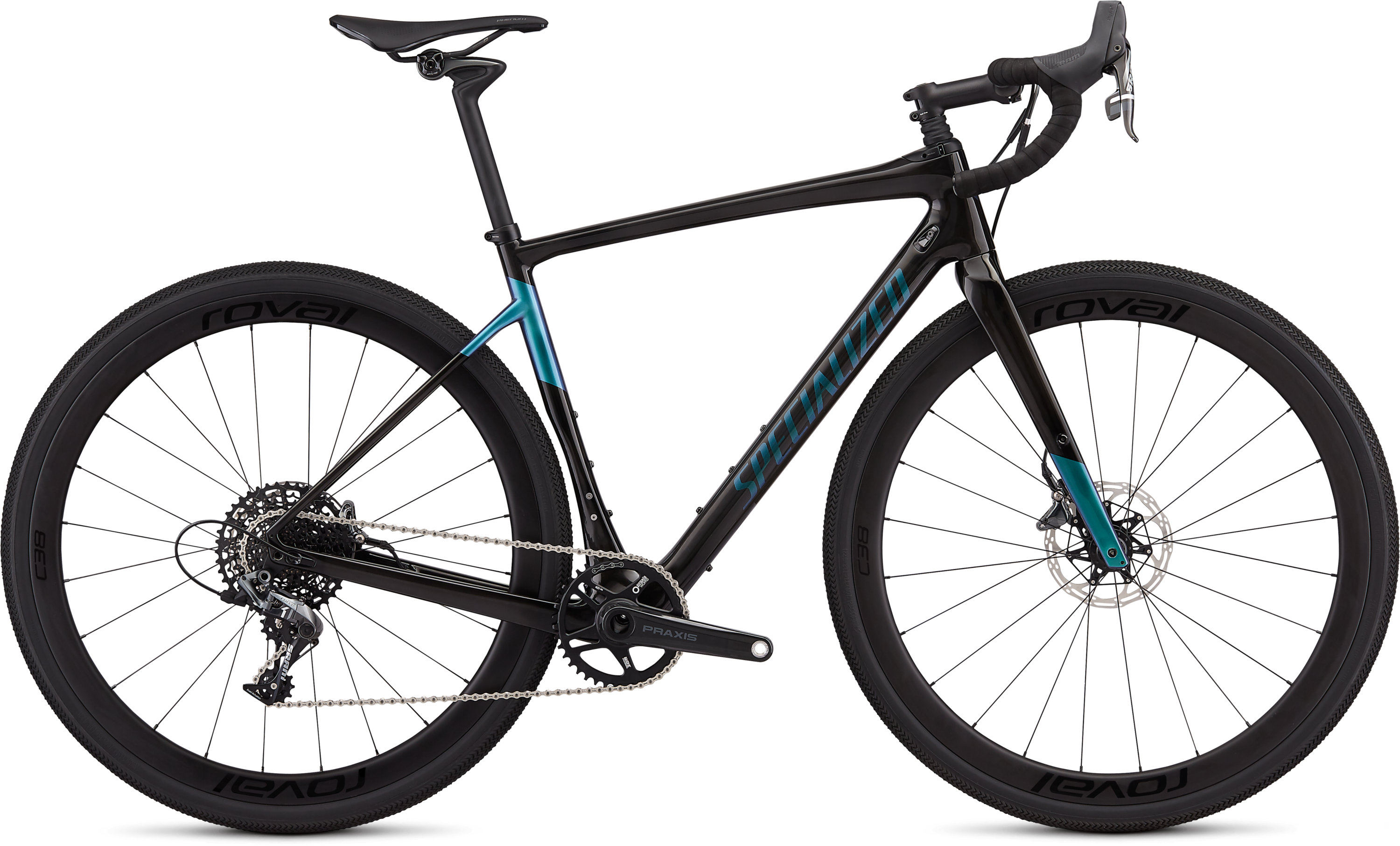 Specialized Men´s Diverge Expert X1 Gloss Carbon/Oil Slick 48 - Pulsschlag Bike+Sport