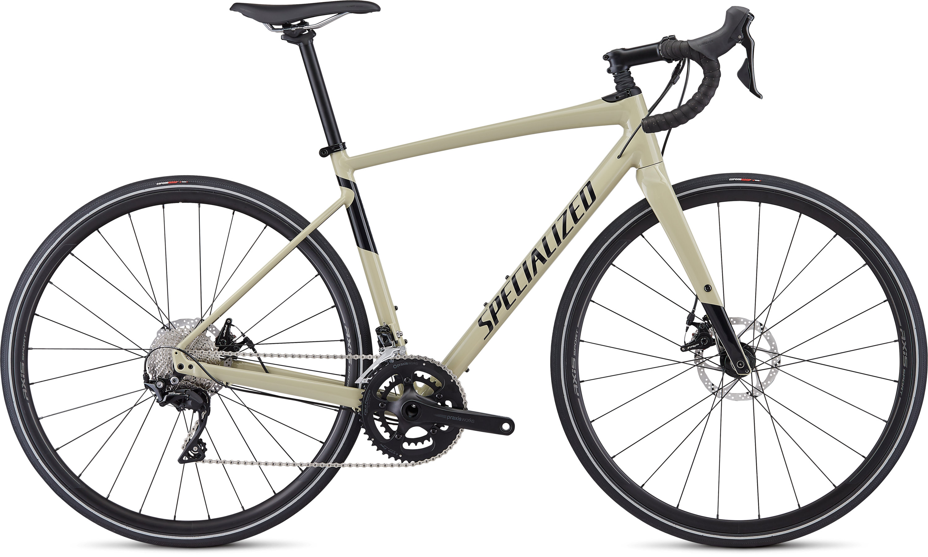 Specialized Men´s Diverge E5 Comp Gloss East Sierras/Tarmac Black 48 - Pulsschlag Bike+Sport