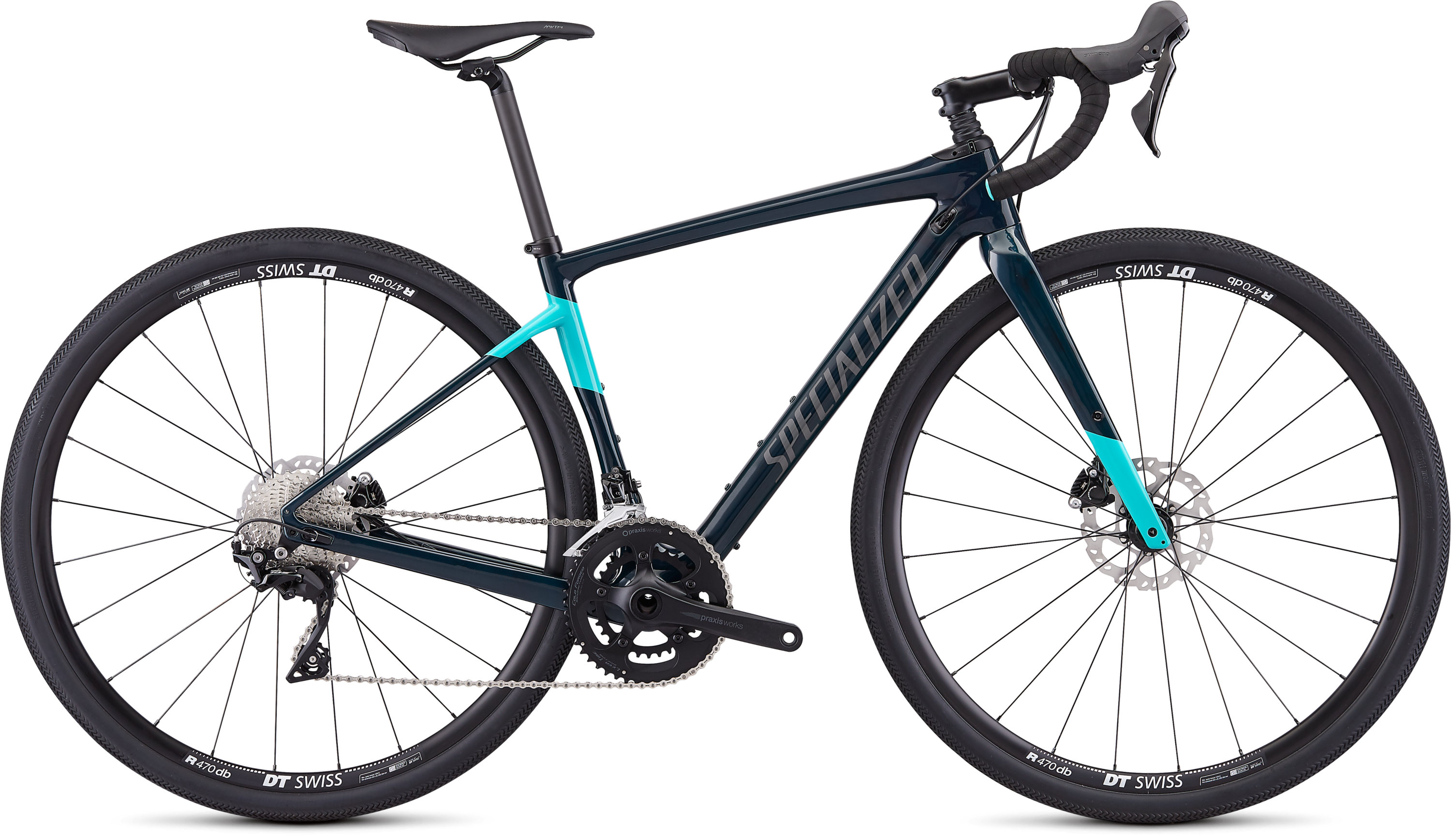 Specialized Women´s Diverge Sport Gloss Teal Tint/Acid Mint/Black 48 - Pulsschlag Bike+Sport