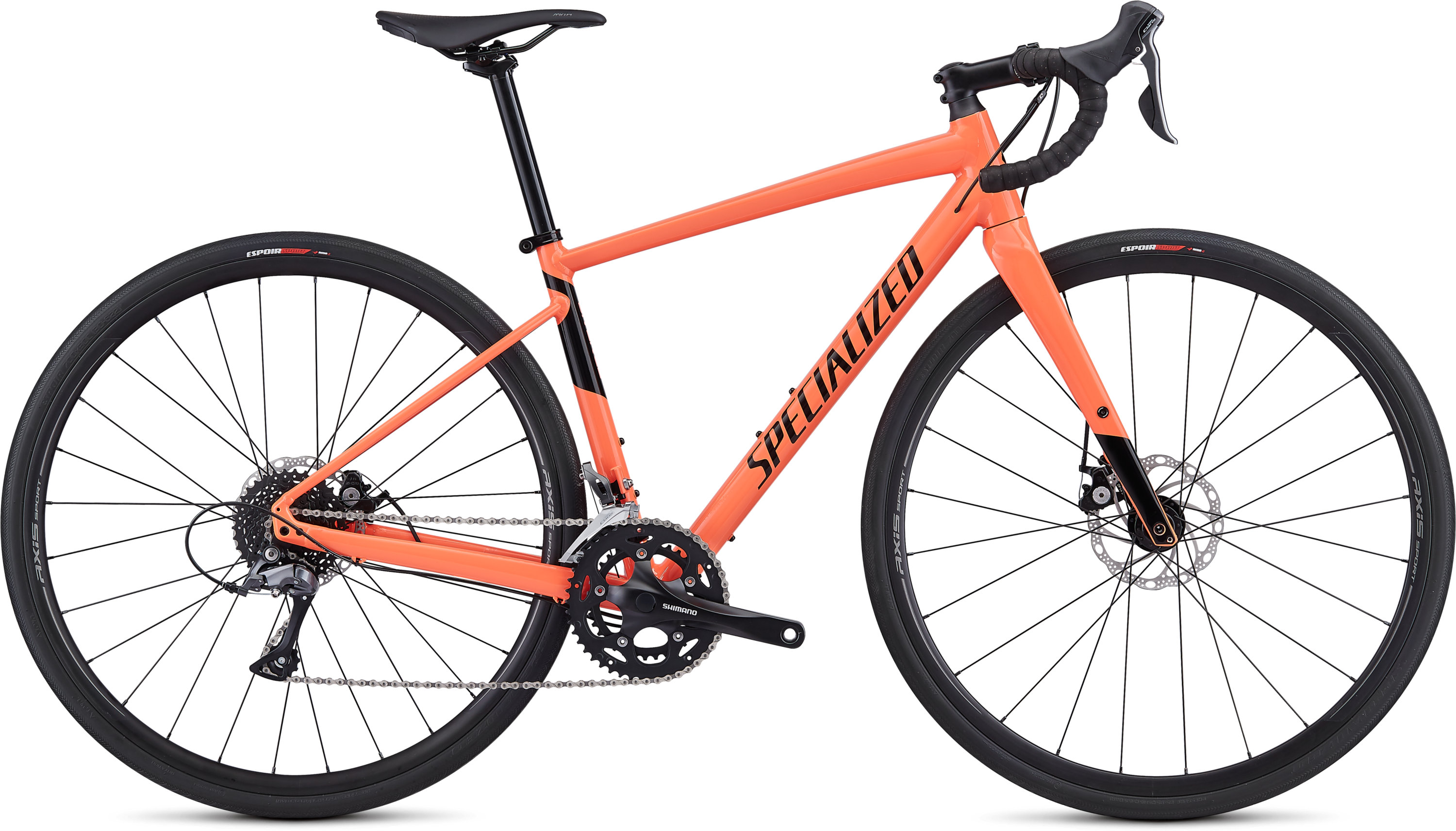 Specialized Women´s Diverge E5 Gloss Acid Lava/Black 44 - Pulsschlag Bike+Sport